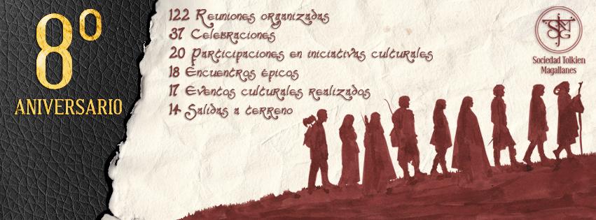 Octavo Aniversario Sociedad Tolkien Magallanes