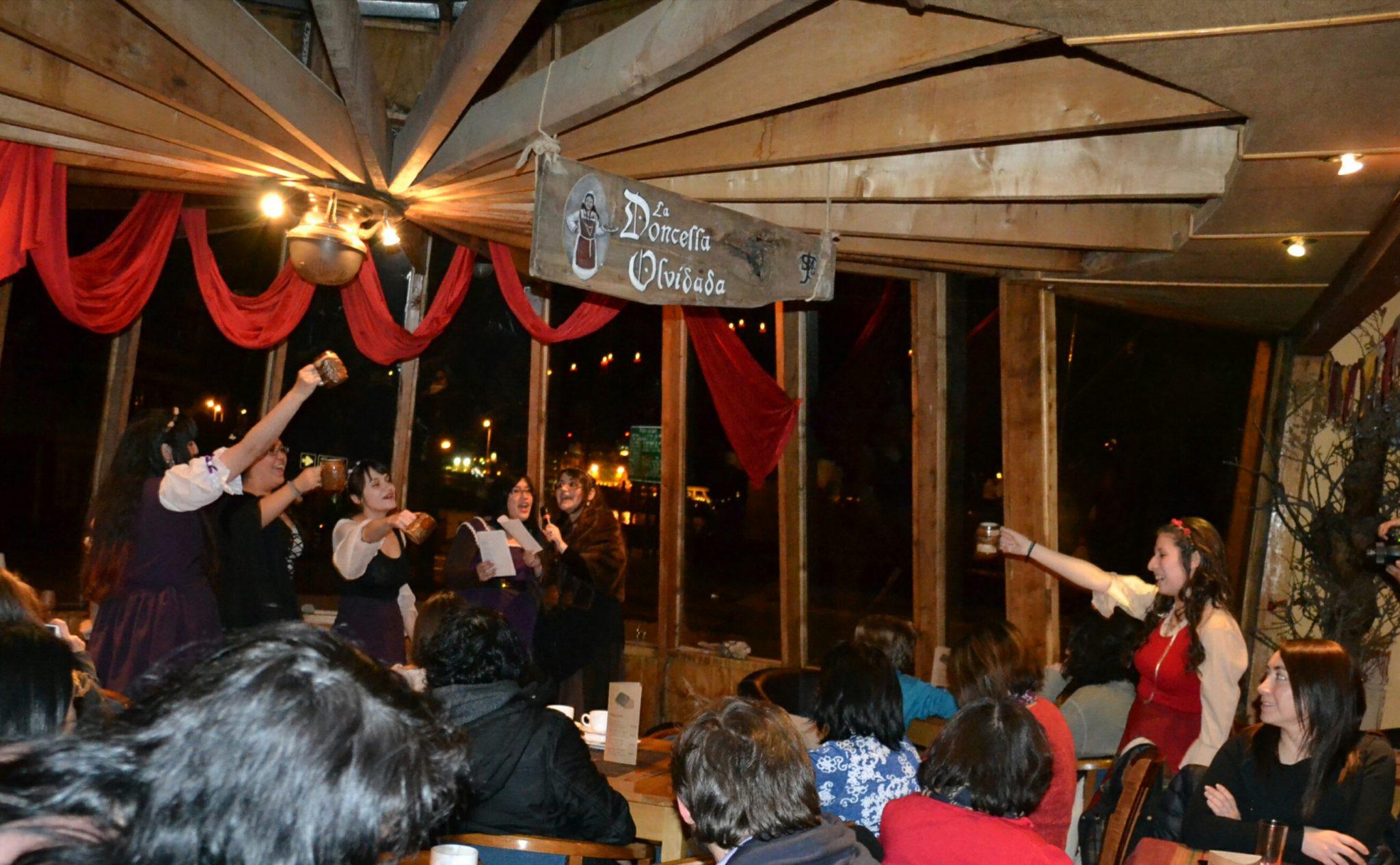 Sociedad Tolkien Magallanes celebra el invierno con actividades artísticas y culturales.