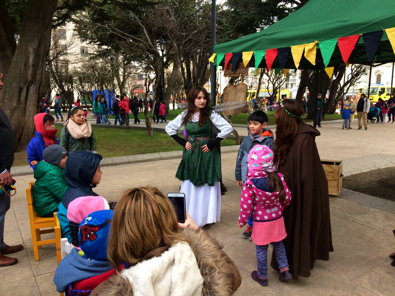 Sociedad Tolkien Magallanes participó en celebración del Día del Niño.